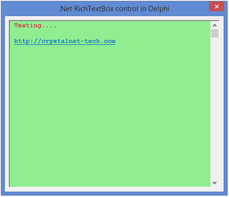 Net Control Suite for Delphi